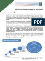 Lectura 1 - Concepto y definiciones fundamentales de Relaciones Públicas
