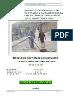 MODELO DE GESTION DE LOS SERVICIOS