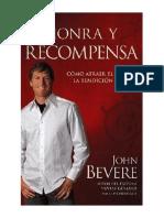 @ John Bevere Honra y Recompensa