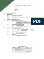 Fuerza horizontal equivalente Excel