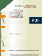 La Presse National Et Interna Nale