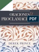 522. Oraciones y Proclamaciones. PRINCE, Derek