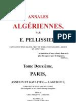 Anales Algériennes.TOME 2