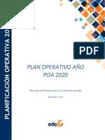 edesur-transparencia-plan-operativo-anual-2020