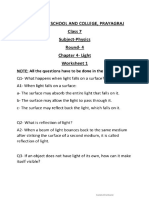 2.class 7 Physics worksheet two