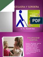 Deficit visual y auditivo