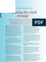 Retail Planning Strategy