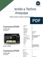 Catálogo Impresoras