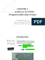 CHAPITRE 1 Generalité FPGA