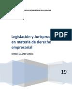 DERECHO EMPRESARIAL LEGISLACIÓN Y JURISPRUDENCIA.docx