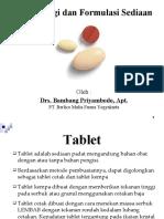 Bab 4 Tekhnologi Formulasi Tablet
