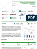 Reporte de coyuntura de la Alianza Latinoamericana de Consultoras Económicas