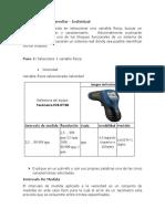 Instrumentos de Medicion de Variables