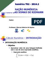 Grupo14-Método das Somas de Riemann