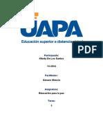 EDUCACIÓN PARA LA PAZ 5