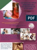 Lo que los  niños aprenden del matrimonio de sus padres