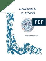 EL ESTADO - MONOGRAFIA (1)