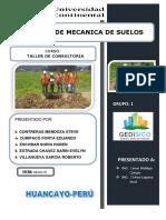 ESTUDIO DE MECANICA DE SUELOS