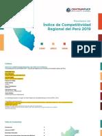 Lectura 16  Indice de Competitividad Regional del Perú 2019