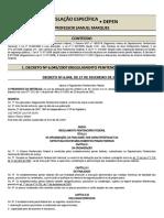 editando - APOSTILA LEGISLAÇÃO ESPECÍFICA DO DEPARTAMENTO PENITENCIÁRIO FEDERAL
