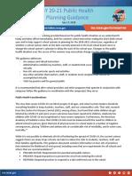 Covid 19 SY 20 21 Public Health Guidance