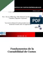 MODULO I GESTION DE COSTOS EMPRESARIALES SESION 1 2018