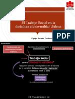 Trabajo Social en la dictadura cívico-militar chilena - 1973-1990
