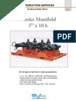 Ckoke Manifold 10K