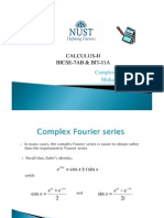Comlpex Fourier Series