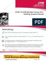 COVID19 Survey 16 Staffing Results