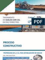 Proceso Constructivo Estabilizacion con cal