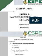 1.1.2. Matrices Especiales - Producto Por Partición