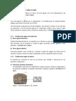 Clasificación de rocas según su origen