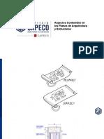 ASPECTOS CONTENIDOS EN LOS PLANOS DE ARQUITECTURA Y ESTRUCTURA