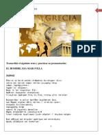 EJERCICIOS DE GRIEGO - ULTIMA REVISION