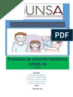 Protocolo de atención psicológica