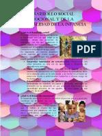 DESARROLLO SOCIAL EMOCIONAL Y DE LA PERSONALIDAD DE LA INFANCIA
