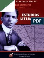 Henriquez Ureña Pedro - Obras Completas - Tomo II - Estudios Literarios.pdf