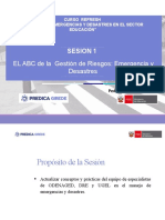 El ABC DE LA GRD-EMERGENCIAS Y DESASTRES