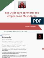 100 Dicas para aprimorar seu empenho na Musculação - GMM