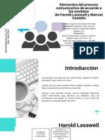 Elementos del proceso comunicativo de acuerdo a los modelos de Harold Lasswell y Manuel Castells (2) (1)