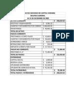 ESTADOS FINANCIEROS PROFORMA CELUACCES