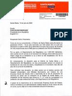 Solicitud Presidente Ivan Duque Marquez