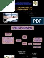 Constitución Del Patrimonio Familiar