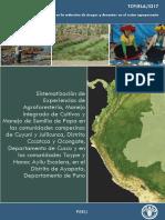 Sistematización de Experiencias de Agroforestería, Manejo Integrado de Cultivos y Manejo de Semilla de Papa en las comunidades campesinas de Cuyuni y Jullicunca, Distrito Cccatcca y Ocongate, Depa