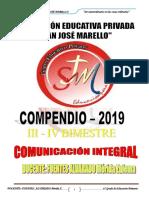 COMUNICA 6° III - IV BIM