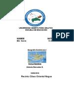 Tarea VI Y VII Geografia Dominicana I