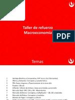 Material taller de refuerzo Macroeconomía AF133 AF154