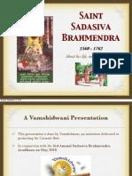 Swami Sadashiv Brahmendra