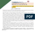 PLANIFICADOR SEMANAL DE ACTIVIDADES SEMANA 8  DEL 25 AL 29 MAYO 2020